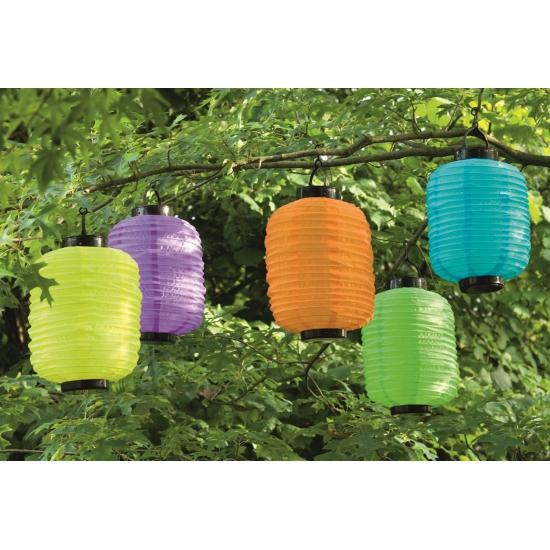 Gekleurde lampion voor tuin of balkon
