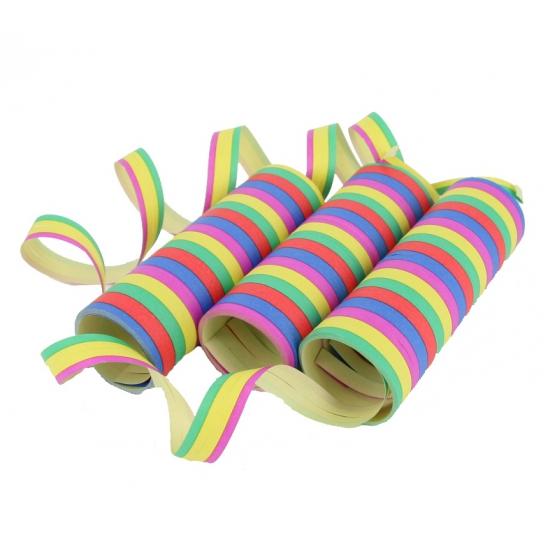 Gekleurde serpentines