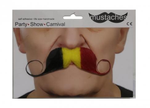 Gekleurde snor Belgie