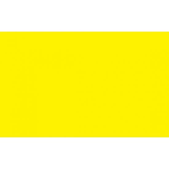 Gele polyester vlag 150 x 90 cm