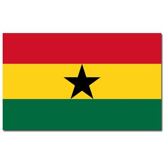 Ghana vlaggen