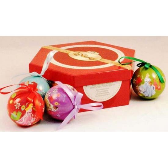 Giftbox met Disney Princess kerstballen