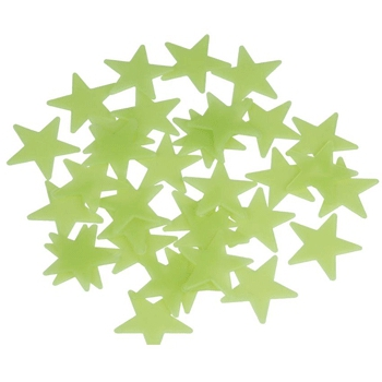 Glow in the dark sterren hemel 102 stuks