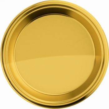 Goudkleurige bordjes 8 stuks