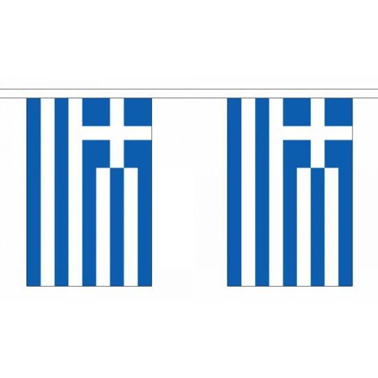 Griekenland vlaggenlijn
