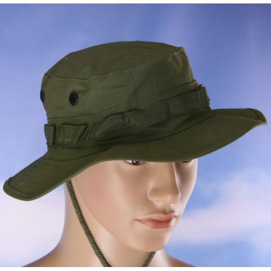 Groen bush safarihoedje