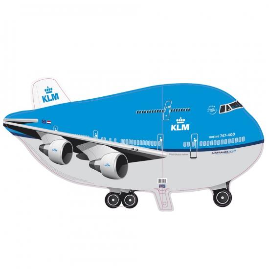 Grote helium ballon KLM vliegtuig