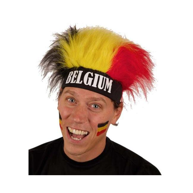 Haarband met pruik Belgie