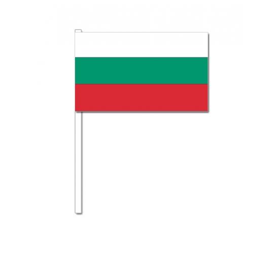 Handvlag Bulgarije 12 x 24 cm