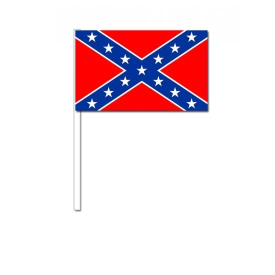 Handvlag Confederatie 12 x 24 cm