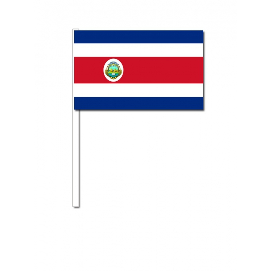 Handvlag Costa Rica 12 x 24 cm