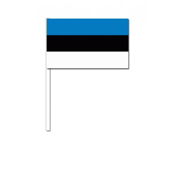 Handvlag Estland  12 x 24 cm