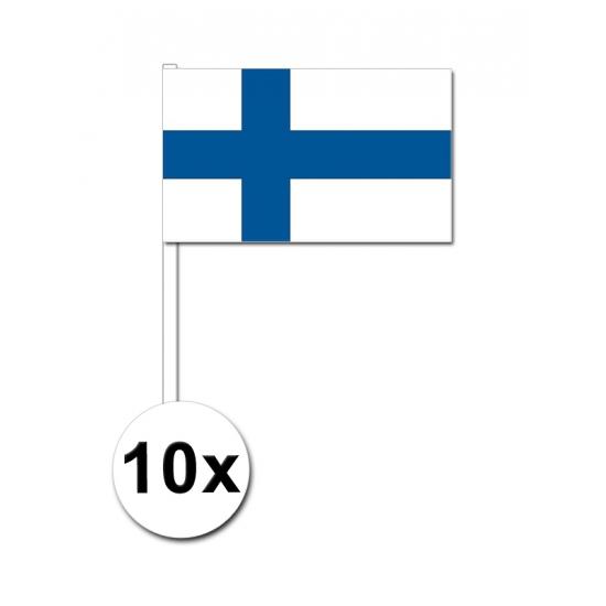 Handvlag Finland set van 10