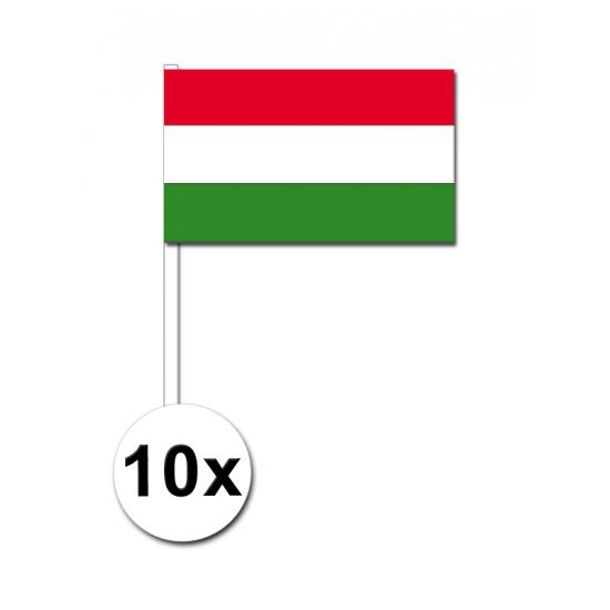 Handvlag Hongarije set van 10