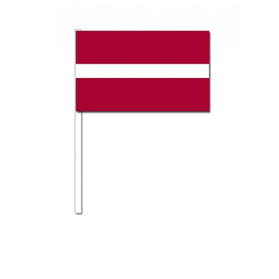 Handvlag Letland 12 x 24 cm