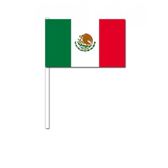 Handvlag Mexico 12 x 24 cm