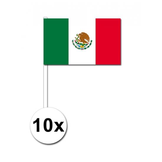 Handvlag Mexico voordeelset van 10
