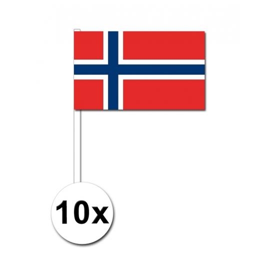 Handvlag Noorwegen pakket van 10