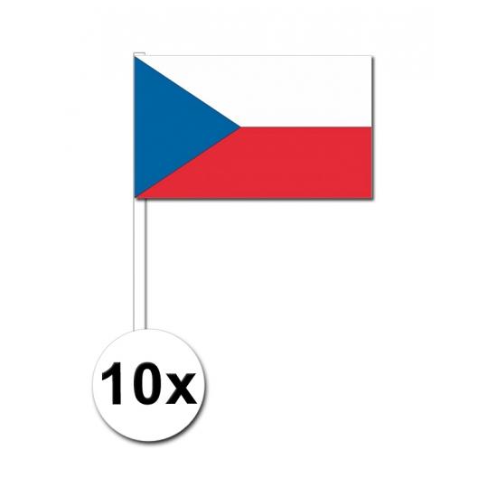 Handvlag Tsjechie set van 10