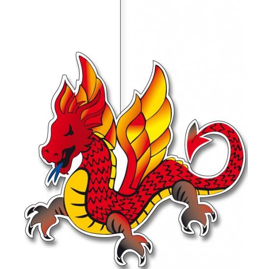 Hangende Chinese draken 30 cm