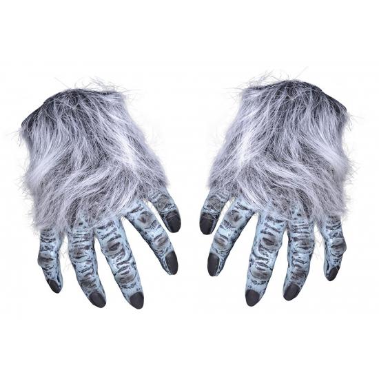 Harige weerwolf handschoenen