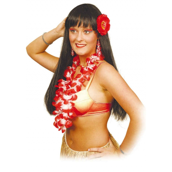 Hawaii kit rood voor dames