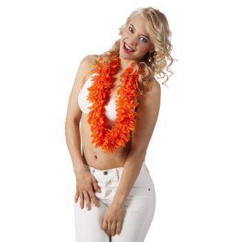 Hawaii kransen oranje