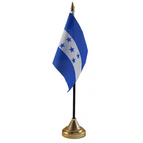 Honduras vlag met standaard