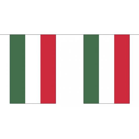 Hongarije vlaggenlijn van stof 3 m