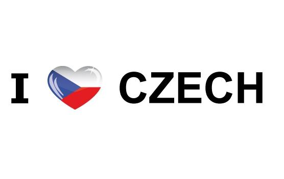 I Love Czech sticker