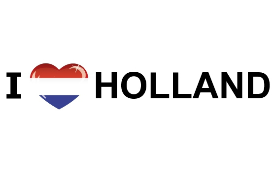 I Love Holland stickers