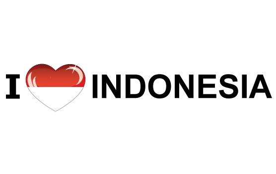 I Love Indonesia sticker
