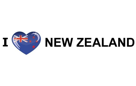 I Love New Zealand stickers