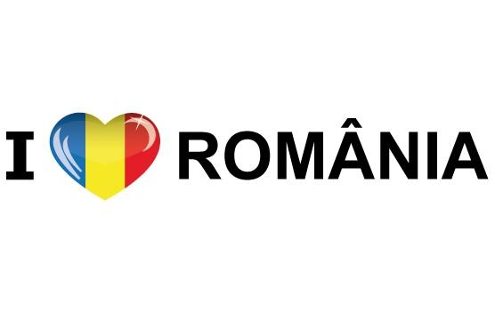 I Love Romania sticker