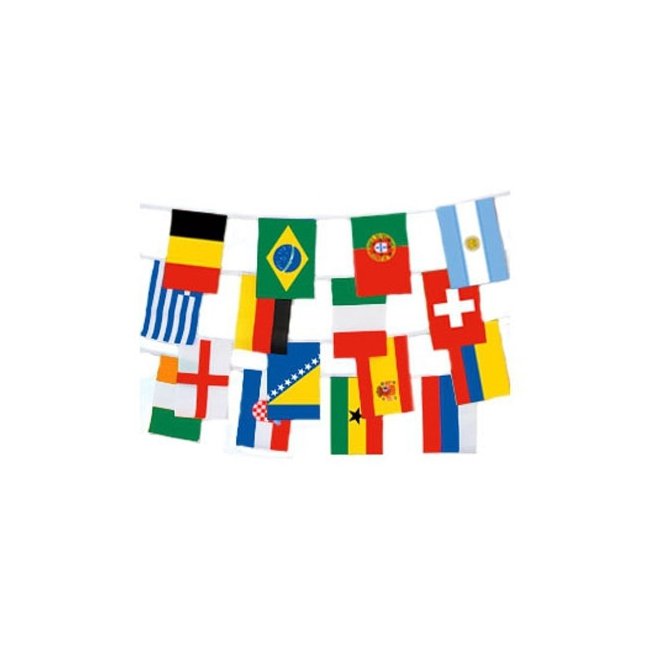 Internationale vlaggenlijn 9 meter
