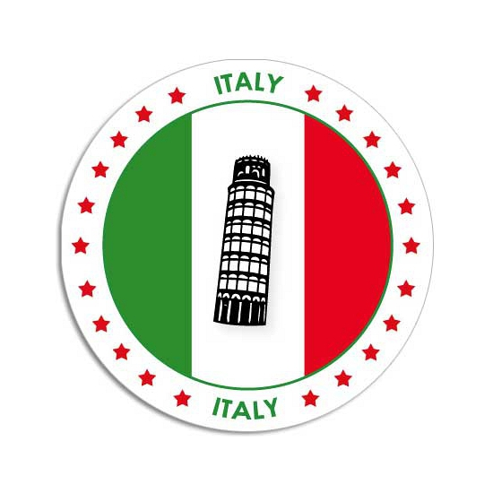 Italie sticker
