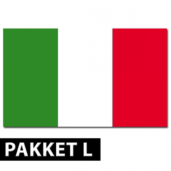 Italie thema artikelen pakket groot
