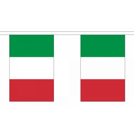 Italie vlaggenlijnen