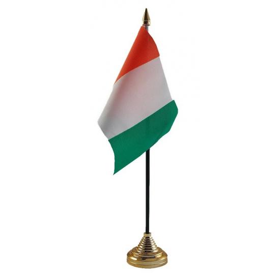 Ivoorkust vlag met standaard