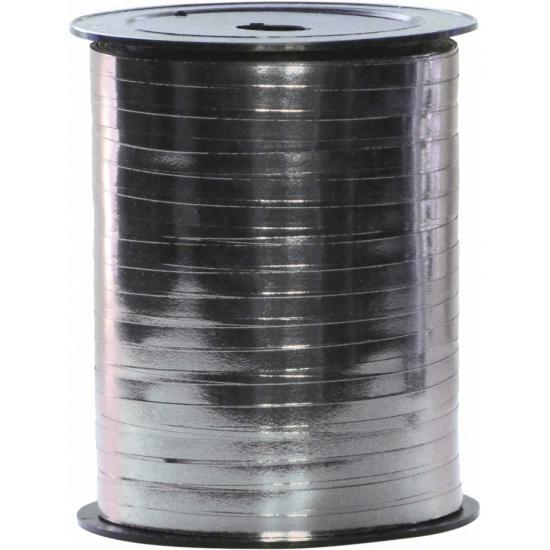 Kado lint in zilverkleur op spoel