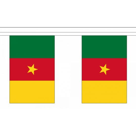 Kameroen vlaggenlijn 9 m