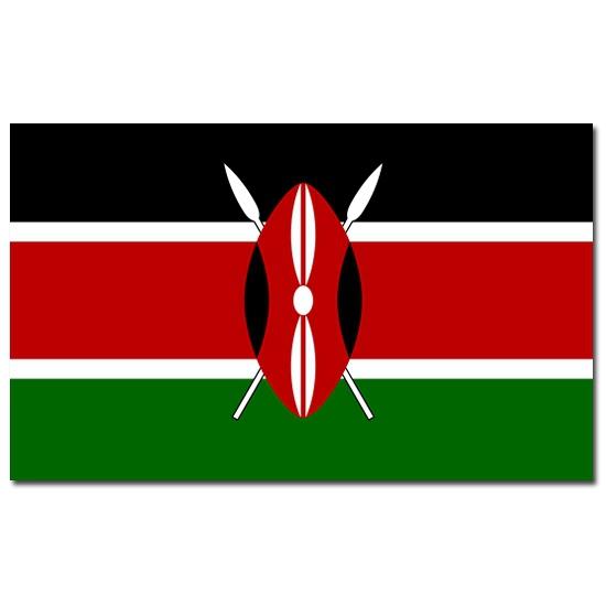 Kenia vlaggen