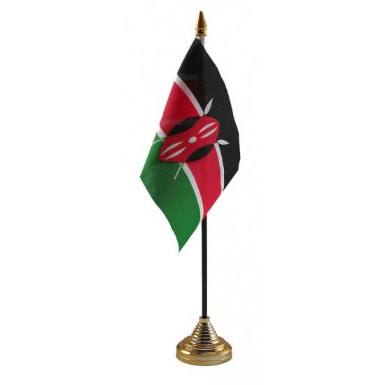 Keniaanse tafelvlag met standaard