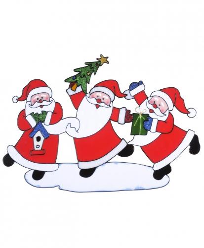 Kerst raamsticker 40 x 27 cm