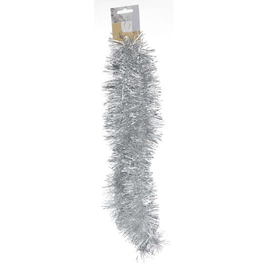 Kerst slinger zilver 2 meter