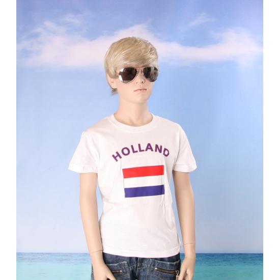 Kinder shirts met vlag van Nederland