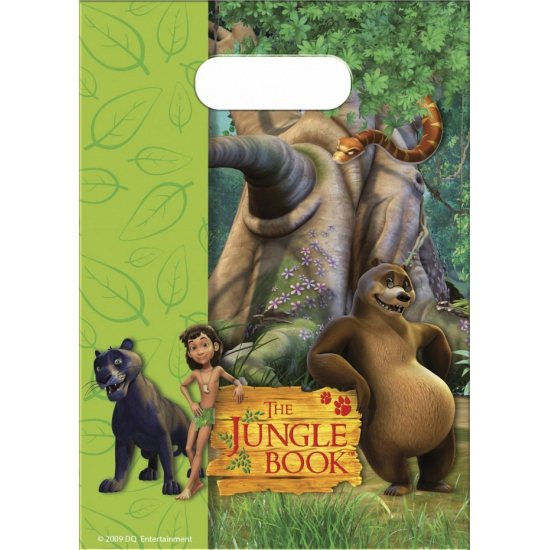 Kinderfeestje Jungle Book uitdeelzakjes 6 stuks