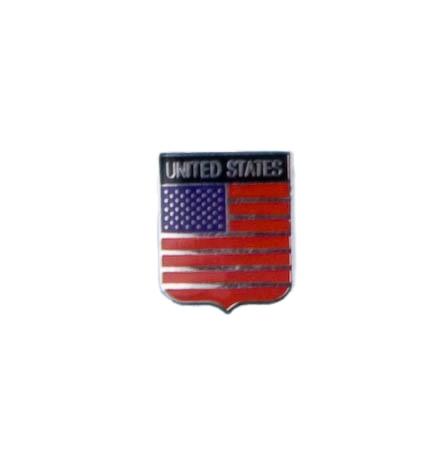 Kleine metalen Amerikaanse vlag pin