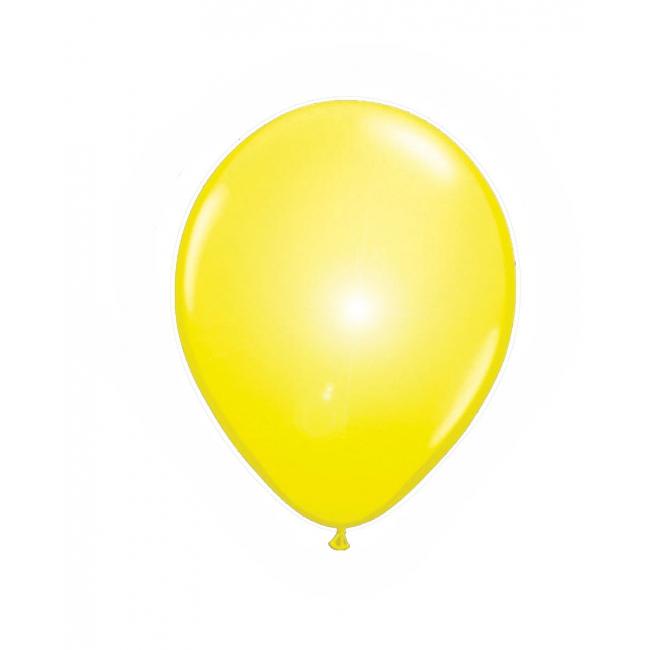 LED ballonnen in de kleur geel