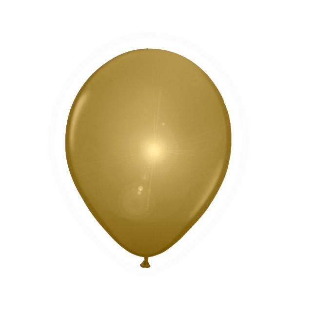 LED ballonnen in de kleur goud